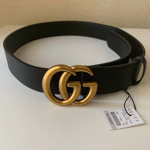 -New Gucci Belt Aüthentic Double G Marmot GG